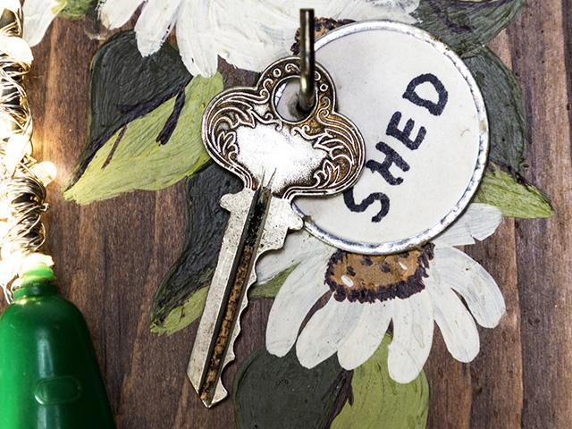 key to the shed