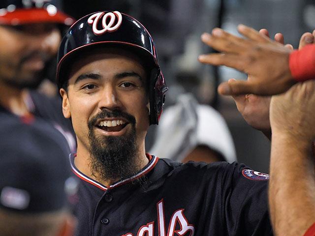 Anthony Rendon, Washington Nationals third baseman. (AP Photo)