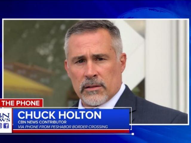 CBN News Contributing Correspondent Chuck Holton. (Image credit: CBN News)