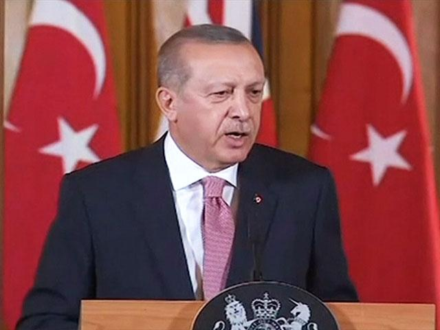 Turkish President Recep Tayyip Erdogan expels Israeli ambassador, Screen Capture