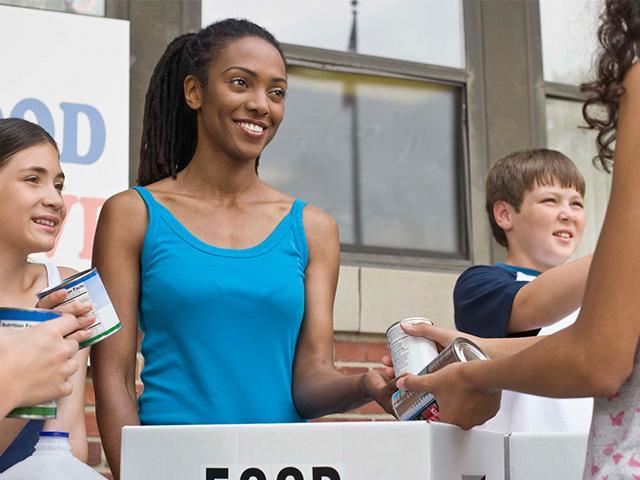 giving-volunteering-food-drive