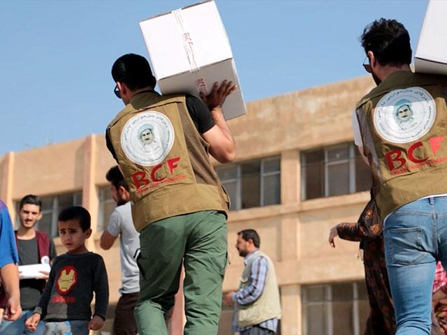 Operation Blessing is providing relief supplies in Syria (Photo: CBN News)
