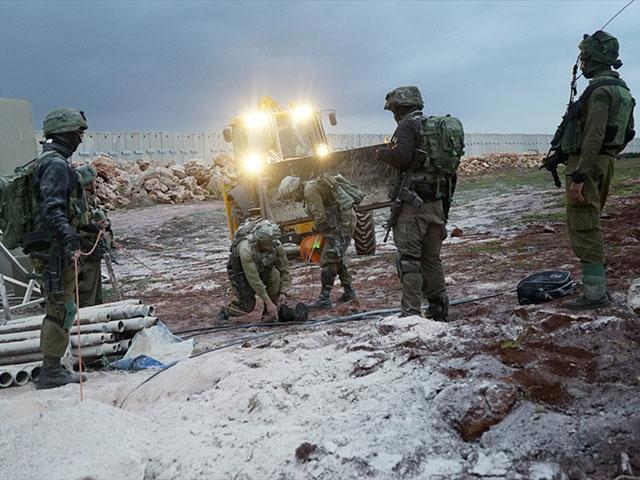 Israeli Troops Carry Out Operation North Shield, Photo, IDF