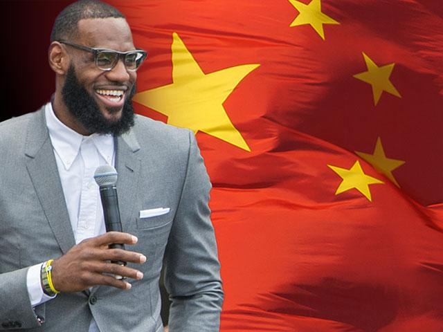 LeBron James adding more fuel to the fiery debate over the NBA in China.