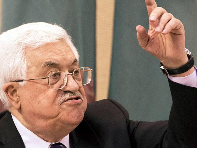 Palestinian Authority President Mahmoud Abbas, Photo, AP