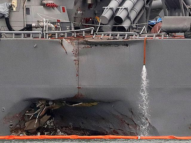 Navy Collisions