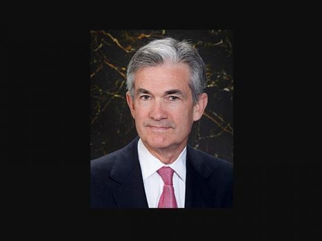 Jerome Powell.  Photo credit: Wikipedia