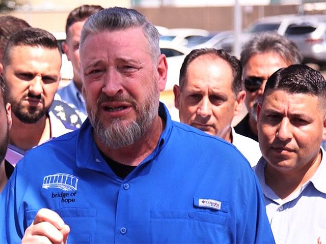 Rod Parsley, founder and senior pastor of the World Harvest Church, speaks after touring a border facility near McAllen, Texas. (Screenshot credit: The KAIROS Company)