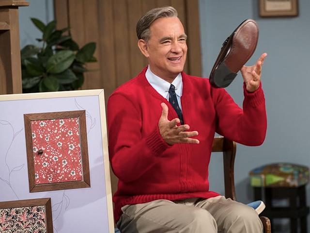 Tom Hanks as Mister Rogers