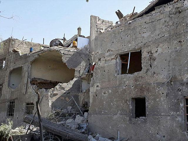 Syria Destruction