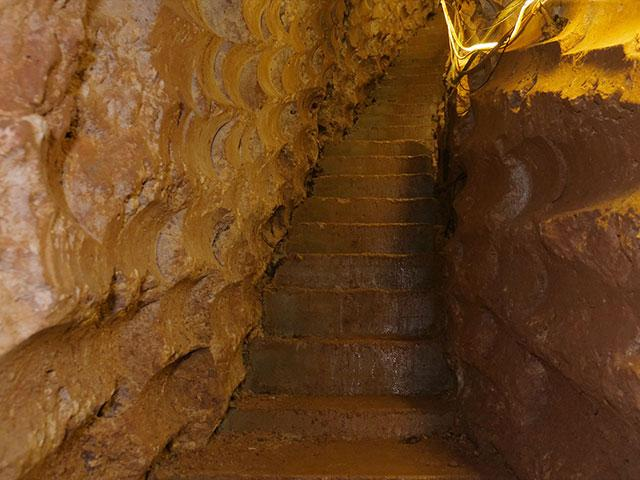 Terror Tunnel Steps