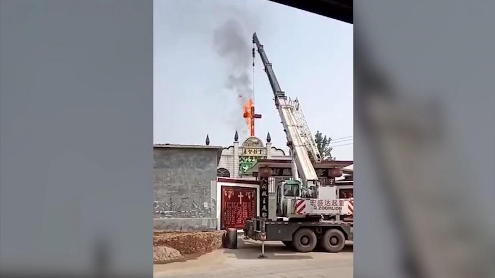 Cross Burning