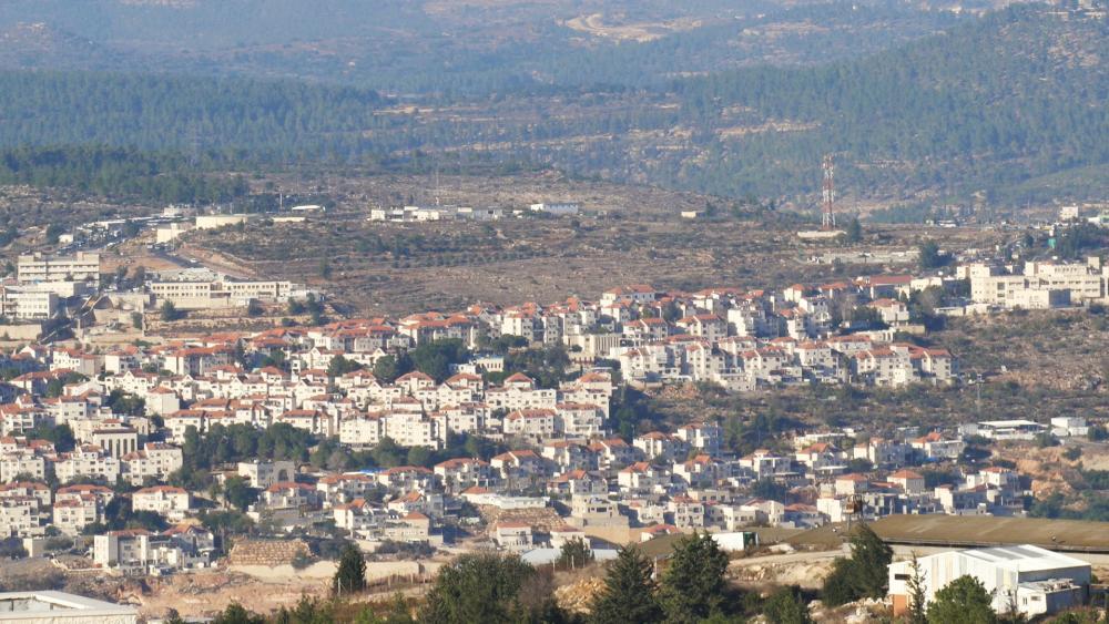 Gush Etzion, Samaria. Photo: CBN News/Jonathan Goff