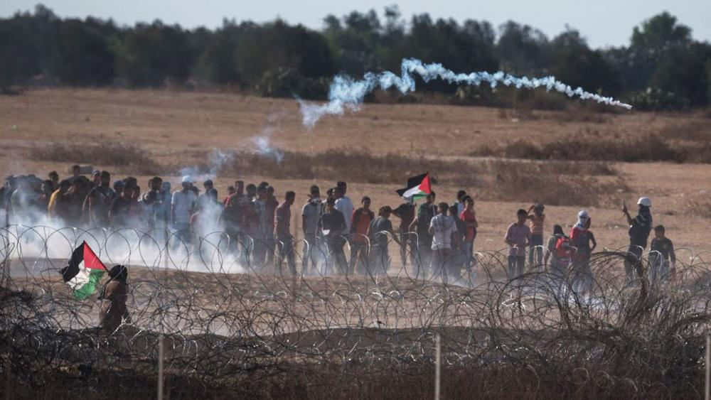 Riots on the Gaza border. Photo: IDF