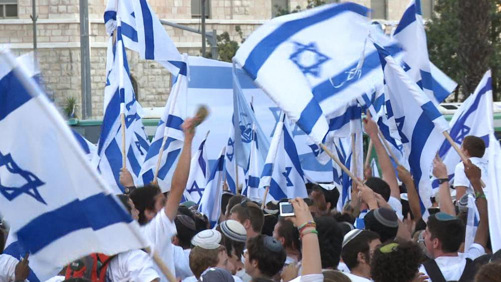 Israelis Celebrating Jerusalem Day, Photo, CBN News