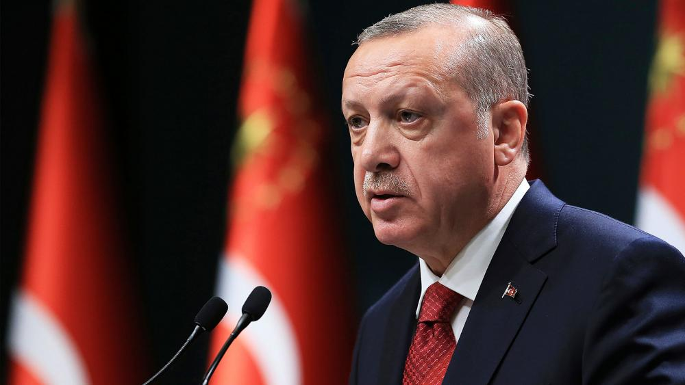 Turkey's President Recep Tayyip Erdogan Announces Early Elections, Photo, AP