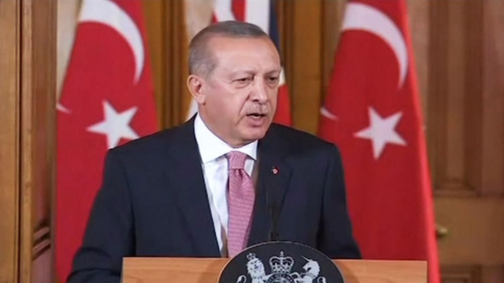 Turkish President Recep Tayyip Erdogan expels Israeli ambassador, Screen Capture