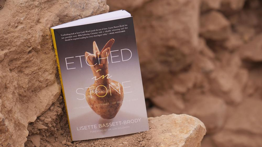 """""""Etched in Stone: Archaeological Discoveries that Prove the Bible,"""" Photo, CBN News"""