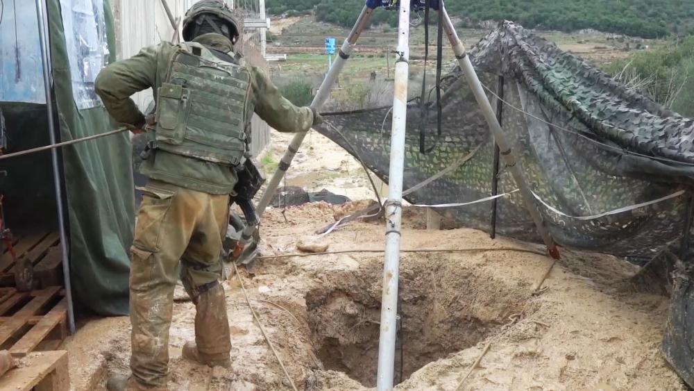Israeli Troops Neutralizing Hezbollah Terror Tunnels, Photo, IDF