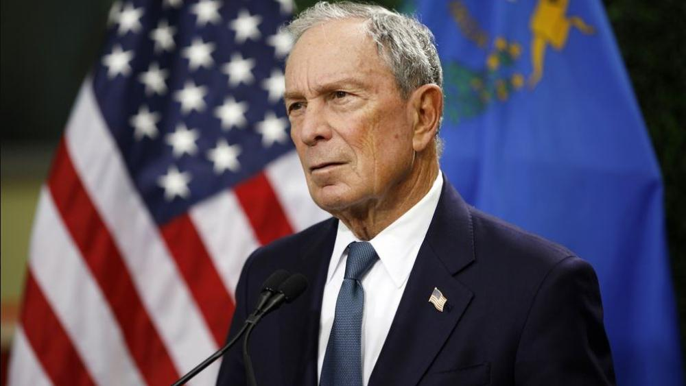 In this Feb. 26, 2019, file photo, former New York City Mayor Michael Bloomberg speaks at a news conference at a gun control advocacy event in Las Vegas. (AP Photo/John Locher, File)