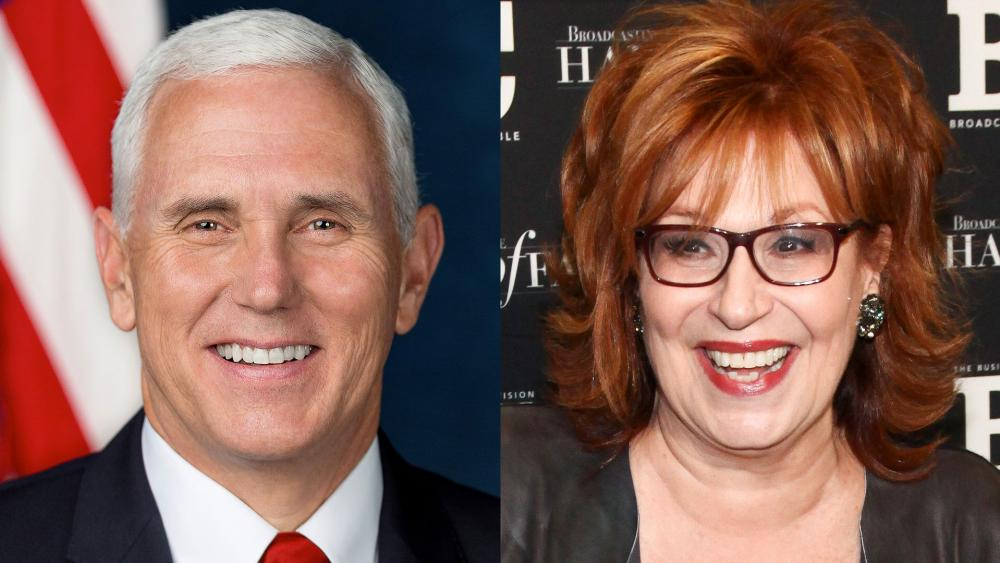 Mike Pence Joy Behar