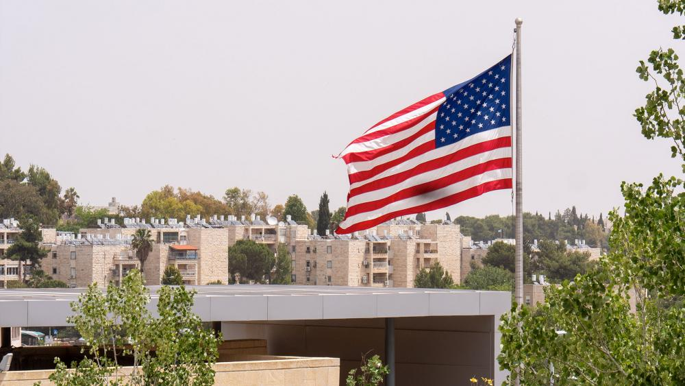 US Embassy in Jerusalem, Photo, CBN News, Jonathan Goff