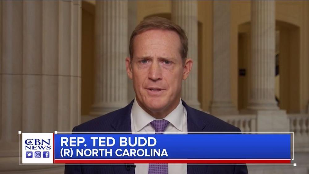 Rep. Tedd Budd (R-NC). (Image credit: CBN News)