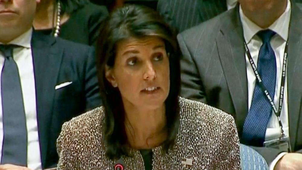 US UN Ambassador Nikki Haley, Photo, AP archive